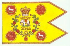 Squadron guidon of the 19th Light Dragoons