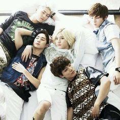 NU'EST JR, Ren, MinHyun, BaekHo, Aron