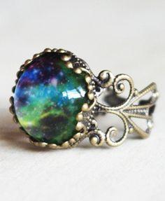 Vintage Morocco Gemstone Ring