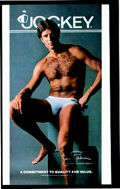 d323159a8 Jim Palmer debuted in a Jockey advertisement