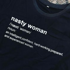 T-Shirt with a point of view. #tshirt #nastywoman #nasty #8marzo #maglia #girlboss #newin #bloggerlife