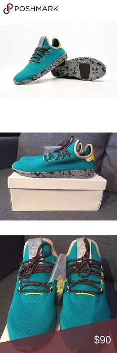 Adidas Pharrell Williams PW Tennis HU Night Marine New in box Pharrell  Human Race Tennish Shoes bfe4001b7