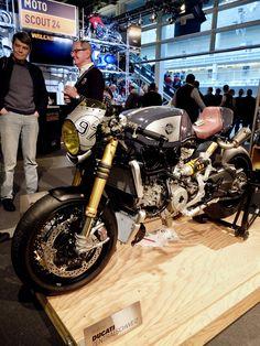 https://flic.kr/p/RFXb89 | Ducati Panigale custom café racer | by Parts World