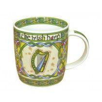 Irish Harp Fine Bone China Coffee Mug