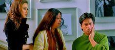Preity Zinta, Kirron Kher, and Shah Rukh Khan in *Kabhi Alvida Naa Kehna* (2006)