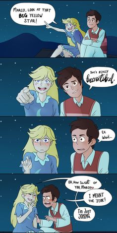 SVTFOE Fancomic - Star is Beautiful by Potaroe