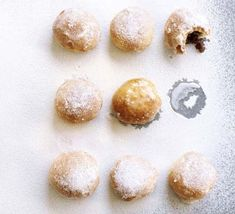 Get into the Christmas spirit and enjoy the pure pleasure of baking these mincemeat filled doughnuts