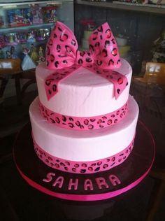 Cheetah cake. El manjar Peruano by marissa's cake.