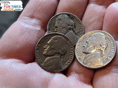 If you have a 1948 nickel, hold on to it! Most are worth 2 to 4 times over face value… AT LEAST. See how much your 1948 nickels are worth here. | coin collecting | us coins