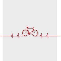 Bike Beat Canvas Print