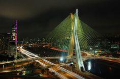 Ponte Estaiada Octavio Frias de Oliveira   PET Engenharia Civil - UFJF