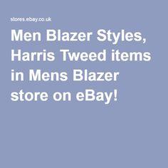 Men Blazer Styles, Harris Tweed items in Mens Blazer store on eBay!