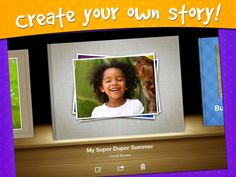 Create stories on ipad! Great idea to do before conferences