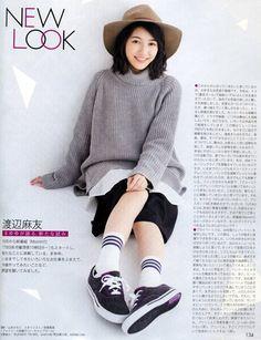 Watanabe Mayu: Watanabe Mayu in Duet Dec 2015. Scan...