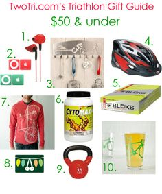 Great gift ideas for triathletes! #TwoTri