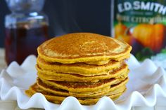 Vegan Pumpkin Pancakes Recipe | Eggless Cooking