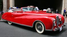 Delahaye 178 Drophead Coupé (1949), once owned by Elton John.
