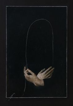 Nicola Samorì - In principio era la fine, 2016 Olio su tavola Arte Obscura, Arte Horror, Oeuvre D'art, Dark Art, Art Inspo, Art Reference, Contemporary Art, Art Photography, Illustration Art