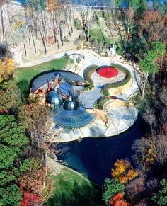 Organic Architecture home of Steve Skilen by architect Bart Prince Located in Ohio | Sightsz