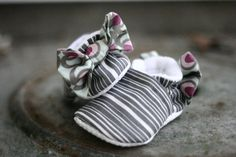 Infant bootie from MyBabyandCompany... Adorable