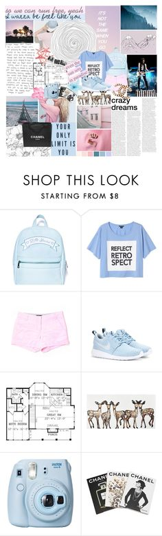 """I wanna be free with you"" by defying-gravity-xxx ❤ liked on Polyvore featuring Dirty Pretty Things, Chanel, Sugarbaby, Monki, J.Crew, NIKE, WALL, Justin Bieber, Fujifilm and Assouline Publishing"