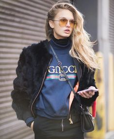 #RomeeStrijd  #GUCCI  from @modelstreetstyle's closet