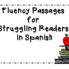 These fluency passages were given to my 1st grade struggling readers.  They are called fluency flexors.  They practice small and attainable goals b...