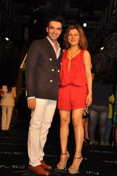 Punit Malhotra and Hard Kaur at the Opening Night event