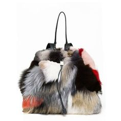 The Row Tops That $39,000 Alligator Backpack...With a PATCHWORK Fur Backpack