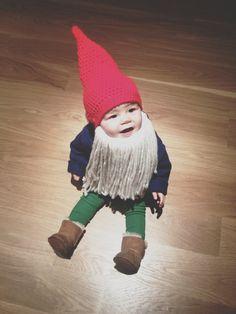 Garden Gnome baby.