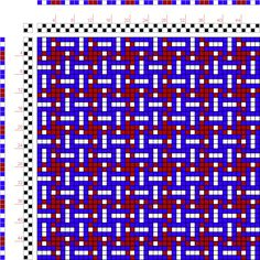 draft image: Figure 109, A Manual of Weave Construction, Ivo Kastanek, 2S, 2T