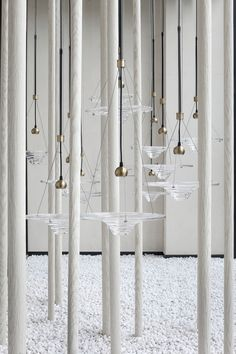 【新提醒】南安.美的智慧城 | 简爱空间设计 - 品牌原创-序赞网 L And Light, Light Art, Light Fittings, Light Fixtures, Interior Lighting, Lighting Design, Pendant Lamp, Pendant Lighting, Ceiling Lamp
