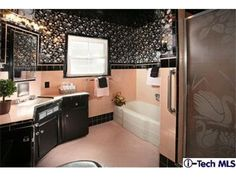 WELL MAYBE NOT IN PINK,  BUT I LOVE THE DUAL COLOR/ PAINT & TILE - SHY