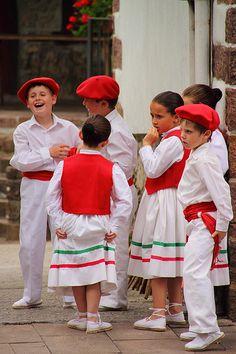 Basque kids in Spain