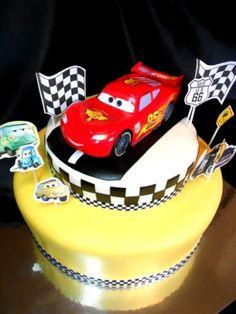 Disney Cars Theme Cake