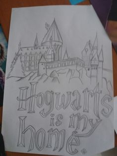 Hogwarts is my home , too.