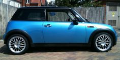 ZCW Angel on Mini_Blue #cars #alloy #wheels #rims #tires #tyres http://www.turrifftyres.co.uk/alloywheels