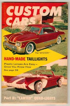 Custom Cars Mar 1959 Old Vintage Hot Rod Magazine Plastics Quad Taillight Ford & Rod u0026 Custom Car Magazine March 1954 #11 Vintage Classic Ford ... markmcfarlin.com