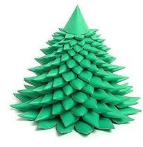 chistmas tree papercraft