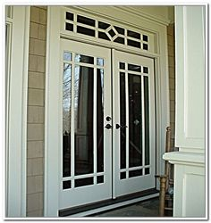 Retractable screen for french doors home real imagined for 48 inch retractable screen door