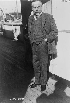 Captain Daniel Dow, Lusitania's penultimate captain - This Day in History: May 7, 1915: Lusitania sinks http://dingeengoete.blogspot.com/