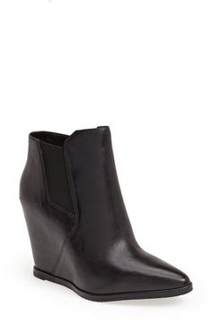 Free shipping and returns on Kenneth Cole New York 'Sloane' Leather Wedge Bootie (Women) at Nordstrom.com   4.5 inches.  My Size.   $199.95