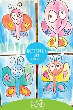 art projects Butterfly Art Project for Spring. these steps to draw a big beautiful butterfly and then pain it or color! Spring Art Projects, Projects For Kids, Drawing For Kids, Art For Kids, First Grade Art, Grade 1 Art, Kindergarten Art Projects, Ecole Art, Butterfly Art