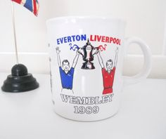 Liverpool FC v Everton 1989 Cup Final Mug