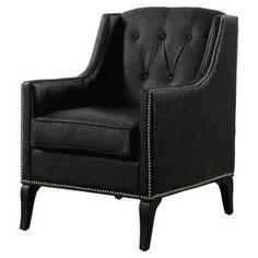 Roxanne Leather Arm Chair