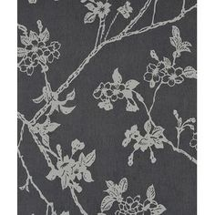 "Flora Blossom 32.97' x 20.8"" Floral and Botanical Wallpaper"