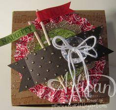 Naughty NICE gift box - November facebook project | Jane Lee http://janeleescards.blogspot.com
