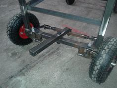 Cart Steering Assembly