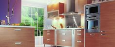 Get a more traditional modern kitchen with Fulda!