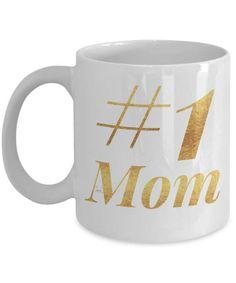 Mom Coffee Mug  1 Mom Number One Mom  by MugsAndMoreGifts on Etsy